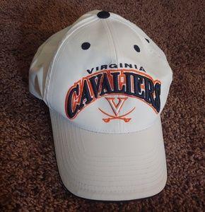 NWT Virginia Cavaliers white billed hat